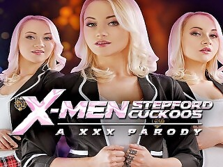 Fucking Marilyn Sugar In XMEN STEPFORD CUCKOOS A XXX PARODY