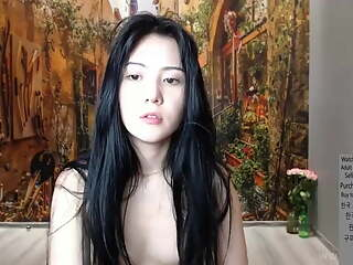 Korean pink beauty live masturbation and squirting