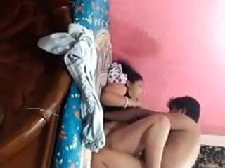 Bengali couple fucking at home