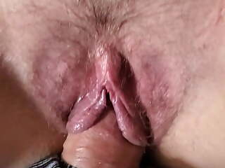 Wife cumming on my dick