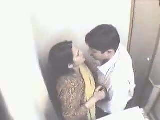 Internet cafe, hidden cam , indian couple