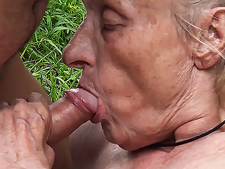 ugly 86 year old mom banged in public