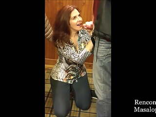 Amazing MILF Fucks in a Changing Room
