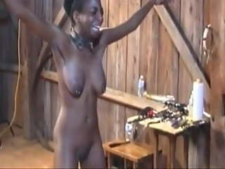 Ebony Goth Revay Tortured In Barn