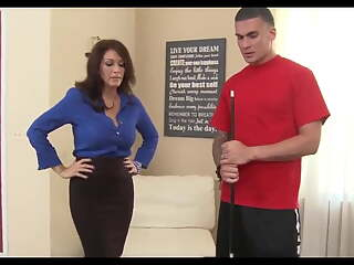 ROLEPLAY- Mom Fucks Son's Friend