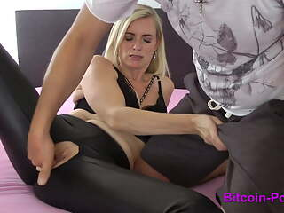 Creampie for the horny milf cunt