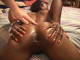 Petite Little Ebony Mama Got Butt Fucked