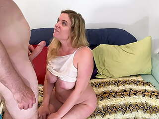 Stepsister teaches stepbro how to get to home base