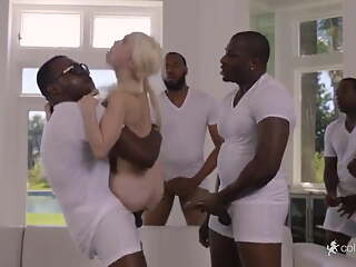 Blacked - Slut Piper Perri (black gangbang)