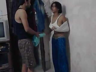 Indian cheating wife caught by husband