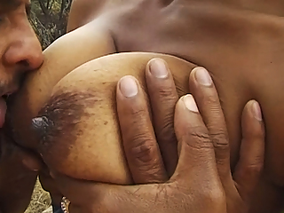 Curvy African fucked by stepbrother