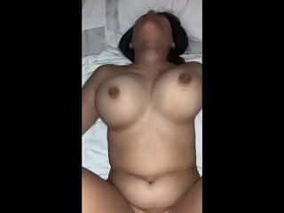 Chinese College Teen with Massive Boobies