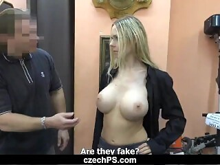 Czech Pawn Shop #6 - The anal bombshell