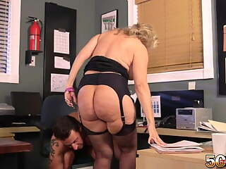 OWYM – Call Center Girl Fucks Younger Coworker