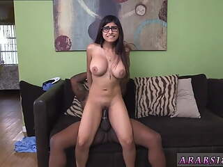 BBC in a tight pussy, Mia Khalifa is crying