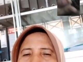 indonasia woman video call