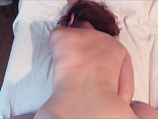 Fucking the neighbor's slut wife without a condom