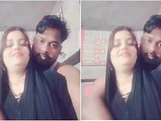 Today Exclusive- Hot look Desi Couple Romance cute indian