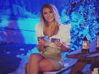 Upskirt during German TV show