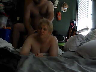 BIG ASS BLONDE MOM POUNDED AGAIN!