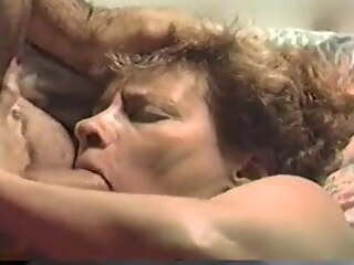 VHS of a hot amateur granny facefucked and jizzed on