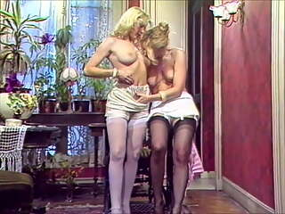 French, Italian and German lesbian scenes from 1980, part 03