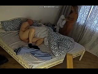 Daddy rents an apartment to fuck a whore