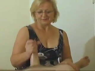 Granny Always Groans When The Cum Shoots Out