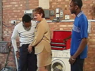 Big Omar's British Adventures, Housewives Gangbang Scene