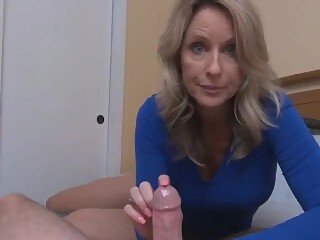 Nice Sex Lesson From Mature MILF POV