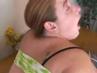Chubby redhead loves anal