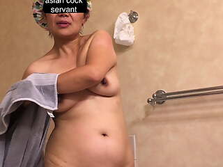 Asian Mature Wife is an Old & Fat Bitch