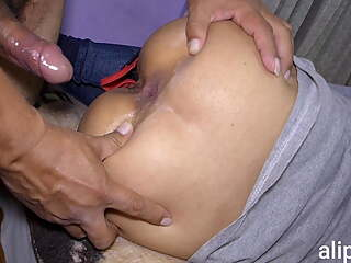 I share a room with my stepsister and I fuck her in the ass