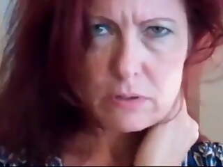 Sexy Redhead MILF Gets Creampied