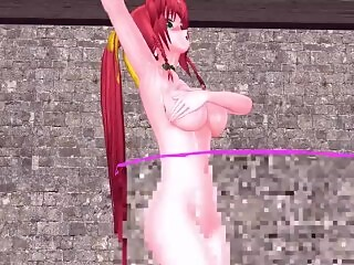 MMD Embarrasing Dance