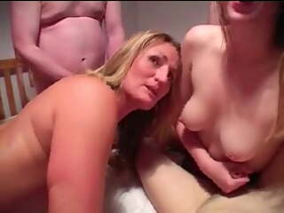 MILF Takes DP For The First Time In Gangbang