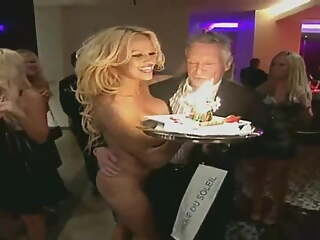 Pamela Anderson Nude - Gift Girl for Hugh Hefner's Birthday