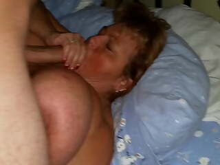 BBW Wife with Huge Tits with a Stranger with a Big Dick