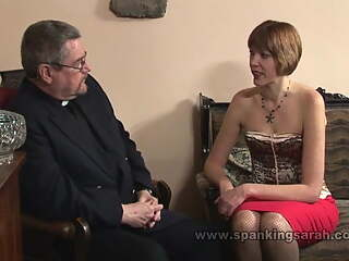 Sarah bathed & spanked for adultery
