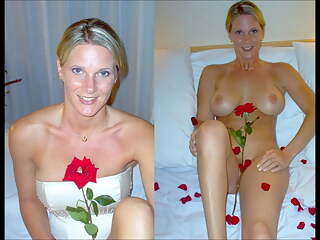 Dressed undressed Brides Slideshow #3