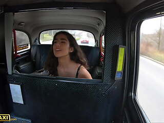 Fake Taxi, Hot Asian Babe Aaeysha Rides Italian Cabbie