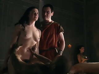 Jessica Grace Smith hard fucking in Spartacus