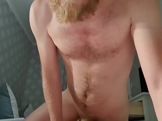 Swedish guy fucking fleshlight, moaning in your ear and then cumming in you FPOV