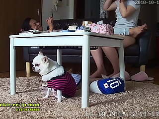IP Camera JP #20181010 - JP Stepdad & Niece