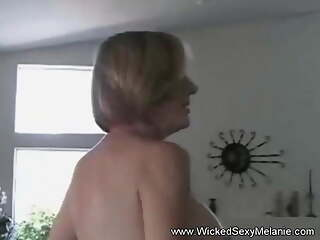 Face To Face With Sexy Grandma
