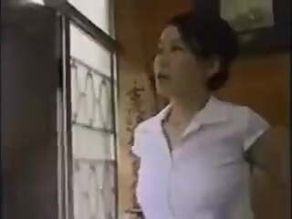 Japanese wife caught by husband