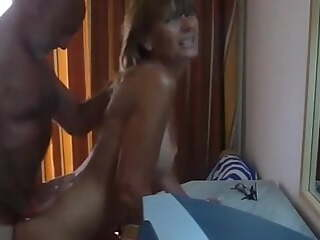 Mature couple at the hotel