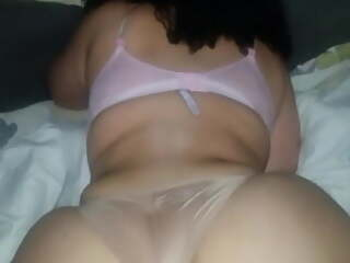 Panty fuck makes me cum quickly