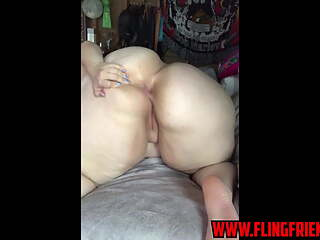 PAWG WITH HUGE WHITE ASS
