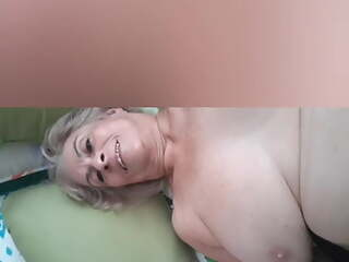 80 year old mature granny takes 20 year old cock